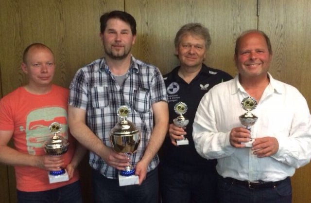 von li nach re: Randy Stahn, Joachim Jagusch, Norbert Bereska und Michael Winter