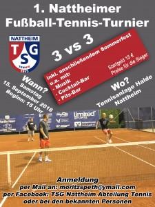 1. Nattheimer Fußball-Tennis-Turnier